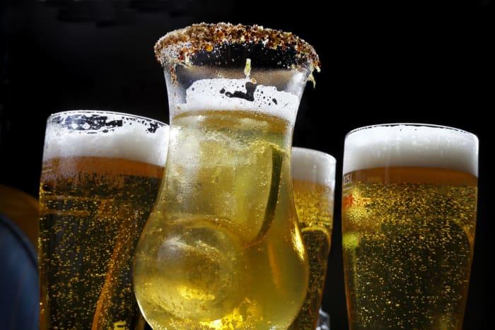 bière avec de la vodka